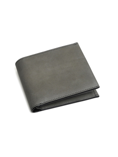Leather short wallet 'level' douce ショートウォレット
