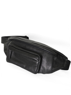 Leather bodybag S 'timeless' A ボディバッグ