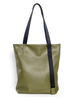 Leather tote 'adjustable shoulder' トートバッグ