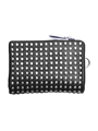 Leather micro wallet 'all-studs' 2 ショートウォレット